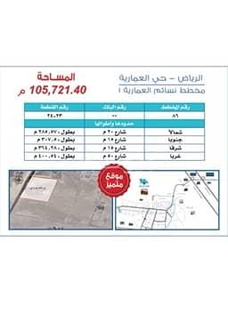 ارض زراعية  للبيع في الدرعية، منطقة الرياض - أرض زراعية في العمارية للبيع