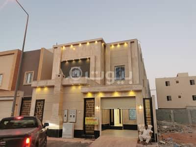 فيلا درج وشقتين 360م2 بحي المونسية شرق الرياض مخطط 38