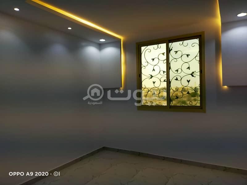 فيلا درج داخلي وشقتين بحي المونسية ، الرياض