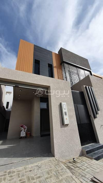فیلا 5 غرف نوم للايجار في الرياض، منطقة الرياض - فيلا فاخرة جديدة للايجار بحي النرجس، الرياض