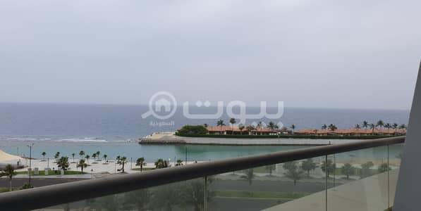 فلیٹ 1 غرفة نوم للايجار في جدة، المنطقة الغربية - شقة للإيجار  بإطلالة بحرية بالكورنيش، شمال جدة