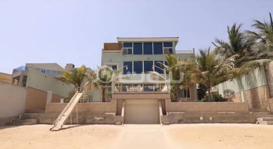 7 Bedroom Palace for Sale in Jeddah, Western Region - Palace (Chalet) on the sea for sale in Durrat Al Aroos, North Jeddah