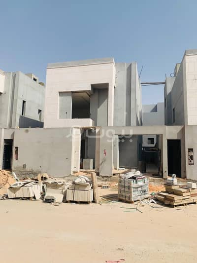 5 Bedroom Villa for Sale in Riyadh, Riyadh Region - Under finishing villa for sale with a Pool in Al Qirawan, North Riyadh