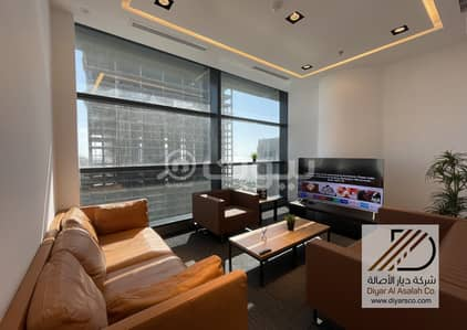 Office for Rent in Jeddah, Western Region - Luxury office with Sea view for rent in HQ Tower, Al Shati Dist -  Jeddah