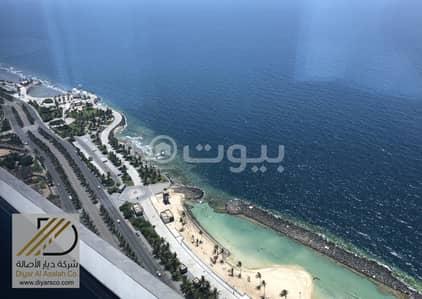مكتب  للايجار في جدة، المنطقة الغربية - مكتب بإطلالات بحرية رائعة للإيجار بحي الشاطئ - شمال جدة
