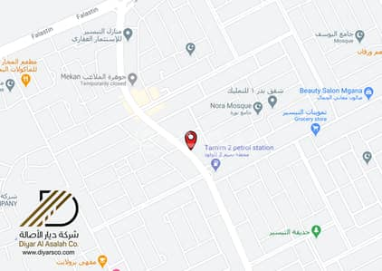 Commercial Land for Rent in Jeddah, Western Region - Commercial land | furnished apartments permit for rent in Al Taiaser, North Jeddah
