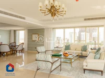 شقة فندقية 3 غرف نوم للايجار في جدة، المنطقة الغربية - شقة للإيجار ببرج التوحيد، الشاطئ شمال جدة