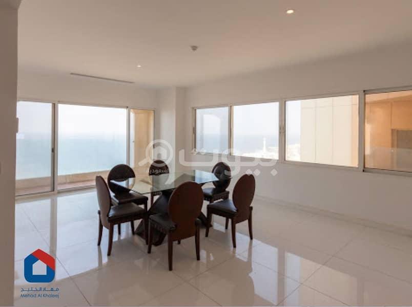 شقة 200م2 للإيجار في الشاطئ، شمال جدة