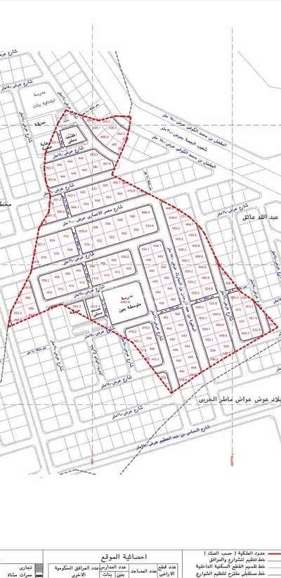Commercial Land for Sale in Madina, Al Madinah Region - Commercial Land for sale in Al Jassah, Madina