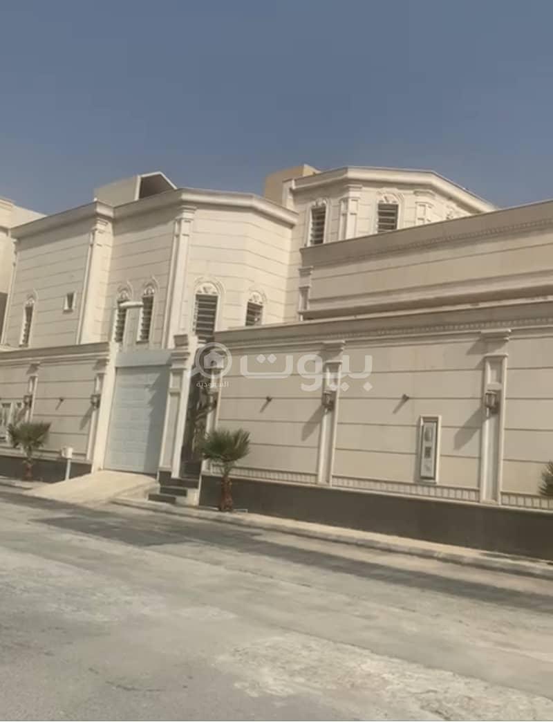 Villa and 2 apartments for sale in Al Munsiyah, east of Riyadh| 1140 sqm