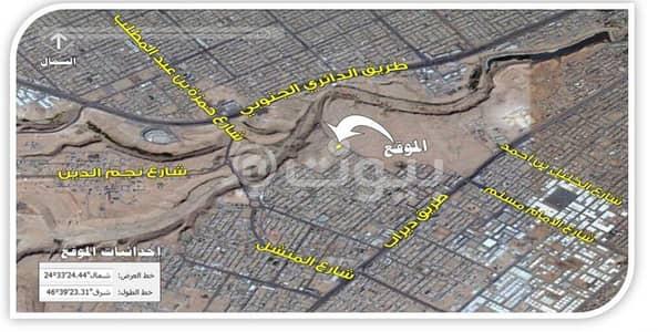 ارض سكنية  للبيع في الرياض، منطقة الرياض - موقع الارض
