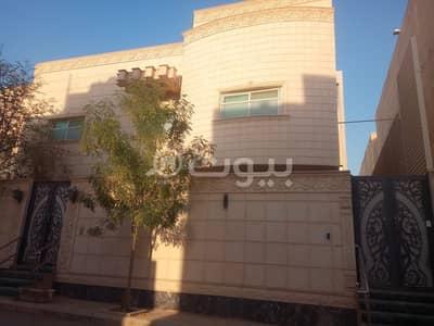 فلیٹ 2 غرفة نوم للايجار في الرياض، منطقة الرياض - شقة ملحق علوي مع روف في فيلا للإيجار في الفلاح، شمال الرياض