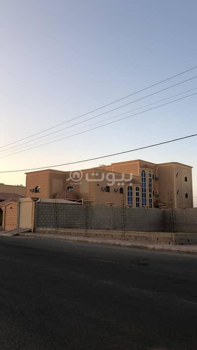 فیلا 20 غرف نوم للبيع في عقلة الصقور، منطقة القصيم - فيلا  مع ملحق للبيع في الملك فهد، عقلة الصقور