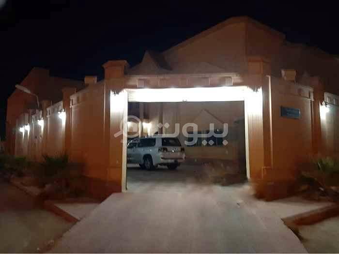 فيلا | 750م2 مع شقتين للبيع بحي المونسية، شرق الرياض