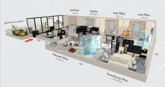 شقة 4 غرف نوم للبيع في جدة، المنطقة الغربية - ملاحق للبيع في مخطط التيسير، شمال جدة