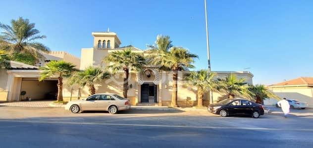 فیلا  للايجار في الرياض، منطقة الرياض - فيلا فاخرة مع مسبح للإيجار في أم الحمام الغربي، غرب الرياض
