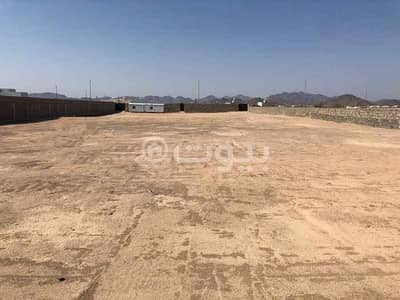 Commercial Land for Rent in Madina, Al Madinah Region - Commercial land 6300 SQM for rent in Al Ghabah, Madina