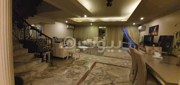 فیلا 5 غرف نوم للايجار في جدة، المنطقة الغربية - للايجار فيلا مؤثثة بالشاطئ شمال جدة