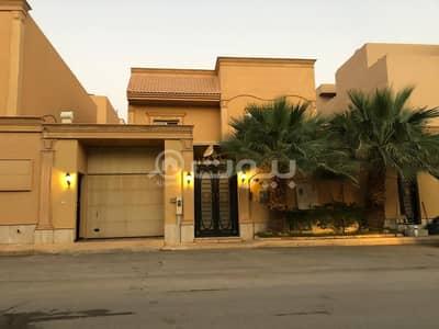 فیلا 5 غرف نوم للبيع في الرياض، منطقة الرياض - فيلا مع سطح للبيع في النخيل الغربي، شمال الرياض