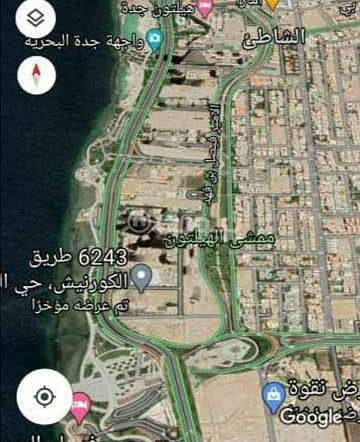 Commercial Land for Sale in Jeddah, Western Region - Residential commercial land for sale in Al Shati, North Jeddah