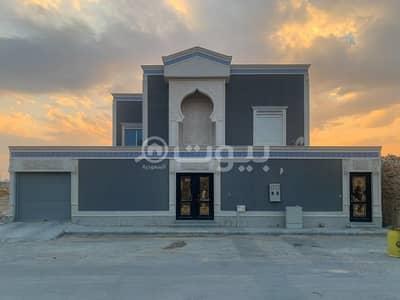 7 Bedroom Villa for Sale in Riyadh, Riyadh Region - New villa for sale in Al Yasmin, North Riyadh