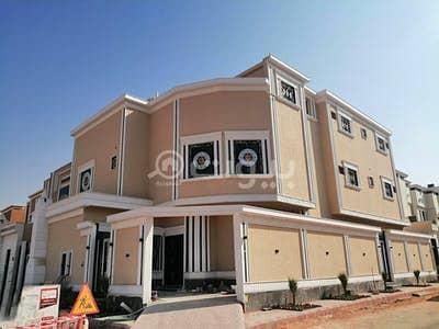 5 Bedroom Villa for Sale in Riyadh, Riyadh Region - Corner villa stairway in hall for sale in Al Rimal, east of Riyadh
