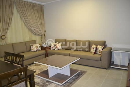 2 Bedroom Flat for Sale in Al Jubail, Eastern Region - Luxury furnished apartment with park for sale in Makkah, Fanateer