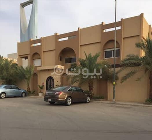 فيلا راقية مع ملحق للبيع في الرحمانية، شمال الرياض ...