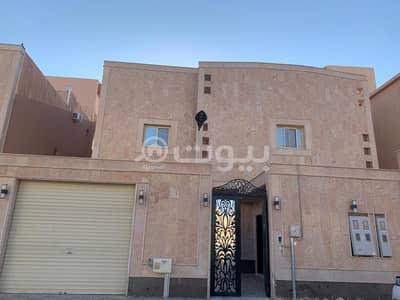 فیلا 5 غرف نوم للايجار في الرياض، منطقة الرياض - فيلا مع سطح للإيجار بشارع المجد ظهرة لبن، غرب الرياض