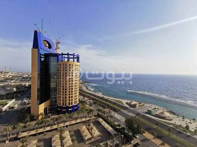 1 Bedroom Flat for Rent in Jeddah, Western Region - A furnished studio VIP apartment for rent in Al Shati, North Jeddah