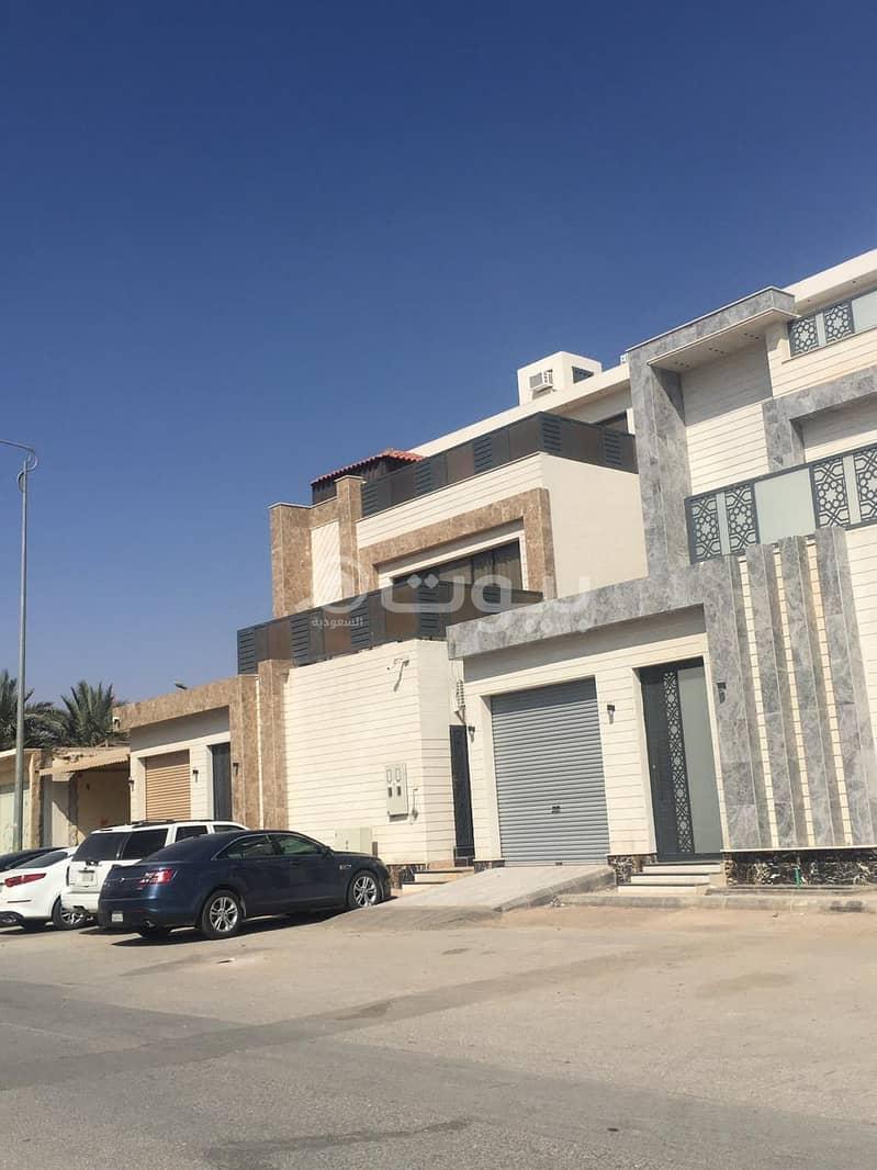 فيلا زاوية للبيع مخطط الجوهرة بحي المونسية، شرق الرياض
