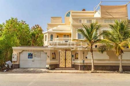 فیلا 5 غرف نوم للايجار في جدة، المنطقة الغربية - فيلا دوبلكس واسعة | 480م2 للإيجار في حي النعيم، شمال جدة