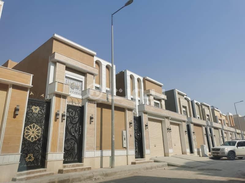 فلل دوبلكس فخمة للبيع في المونسية، شرق الرياض