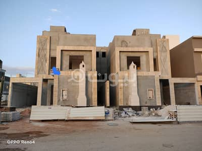 فیلا 4 غرف نوم للبيع في الرياض، منطقة الرياض - فيلا درج داخلي وشقة للبيع في القادسية، شرق الرياض