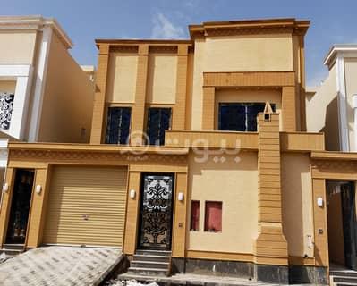 5 Bedroom Villa for Sale in Al Muzahimiyah, Riyadh Region - Internal Staircase Villa And Apartment For Sale In Twaiq District, Al Muzahimiyah