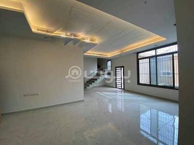 4 Bedroom Villa for Sale in Riyadh, Riyadh Region - Villa with istiraha and a luxurious apartment for sale in Al Qirawan district, North of Riyadh