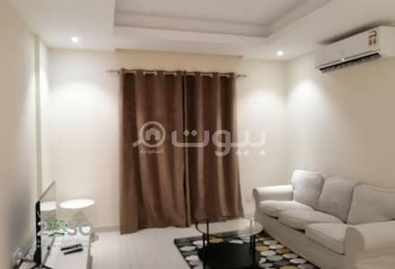 فلیٹ 1 غرفة نوم للايجار في جدة، المنطقة الغربية - شقة جديدة مفروشة بالكامل للإيجار في الرويس، شمال جدة