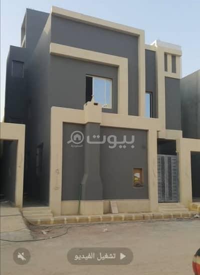 Villa for Sale in Riyadh, Riyadh Region - New corner villa for sale in Al Saeedan district in Al Rimal, east of Riyadh
