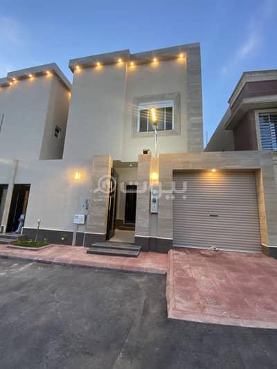 6 Bedroom Villa for Sale in Riyadh, Riyadh Region - Two duplex villas for sale in Al Qirawan district, north of Riyadh