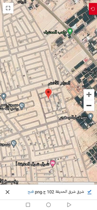 Residential Land for Sale in Al Ahsa, Eastern Region - Residential land for sale in Al Hizam Al Akhdar, Al Ahsa
