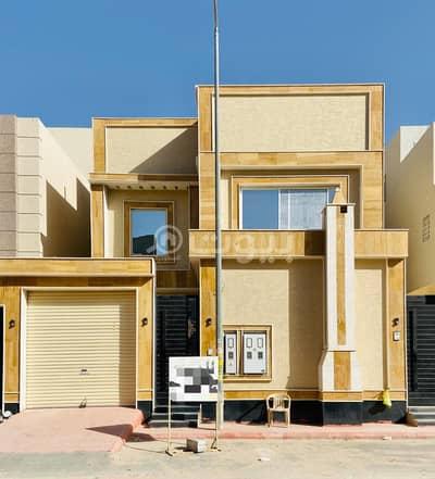 فیلا 3 غرف نوم للبيع في الرياض، منطقة الرياض - فيلا درج داخلي وشقتين للبيع في الرمال، شرق الرياض
