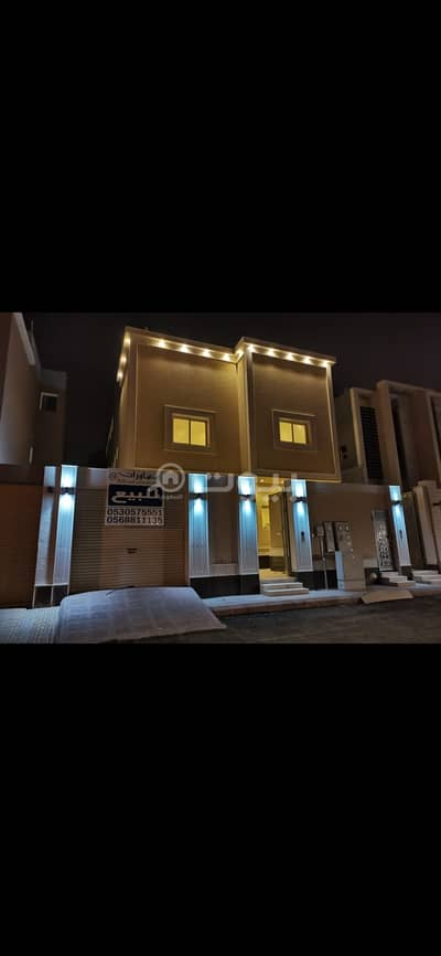 3 Bedroom Villa for Sale in Riyadh, Riyadh Region - Villa | Custom Building | with 2 apartments for sale in Al Arid, North of Riyadh