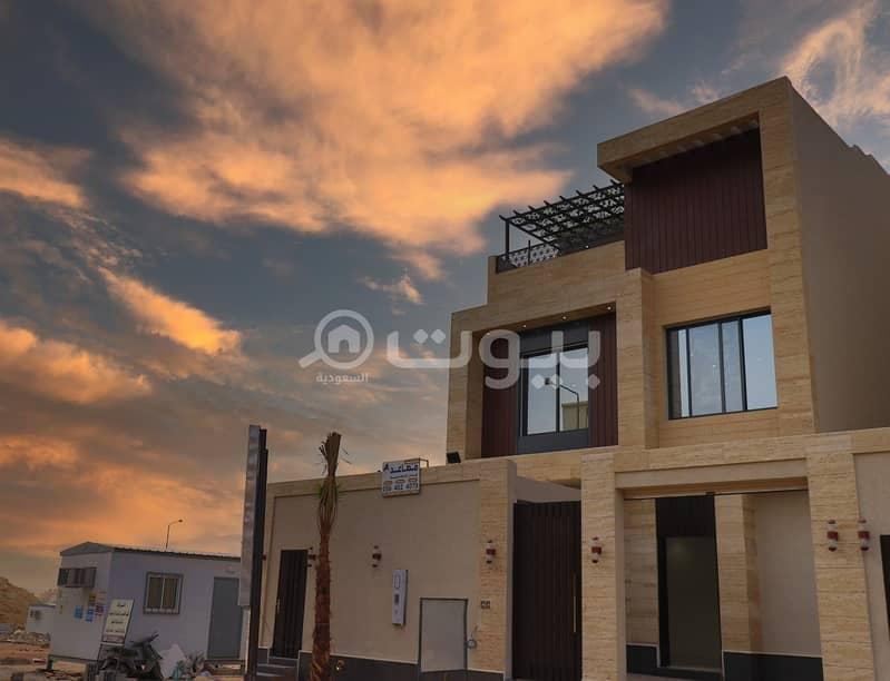Two villas for sale in Al Narjis, north of Riyadh