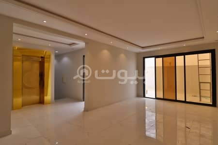 Villa staircase hall for sale in Al Qamra district, north of Riyadh