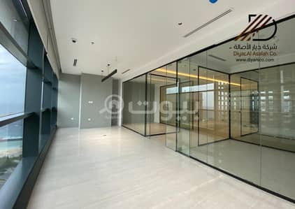 Office for Rent in Jeddah, Western Region - Fully Fitted Office with sea views in HQ Tower