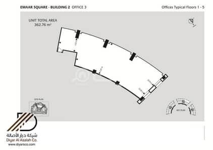 مكتب  للبيع في جدة، المنطقة الغربية - مكتب في منطقة حيوية في إعمار سكوير للبيع - جدة