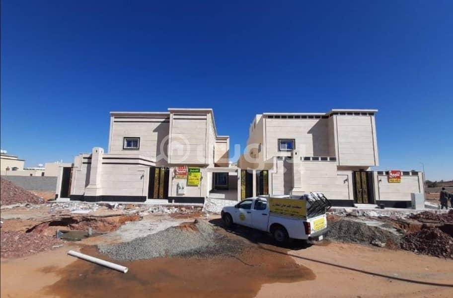 Two Duplex Villas With Annex For Sale In Al Nafl, Hail