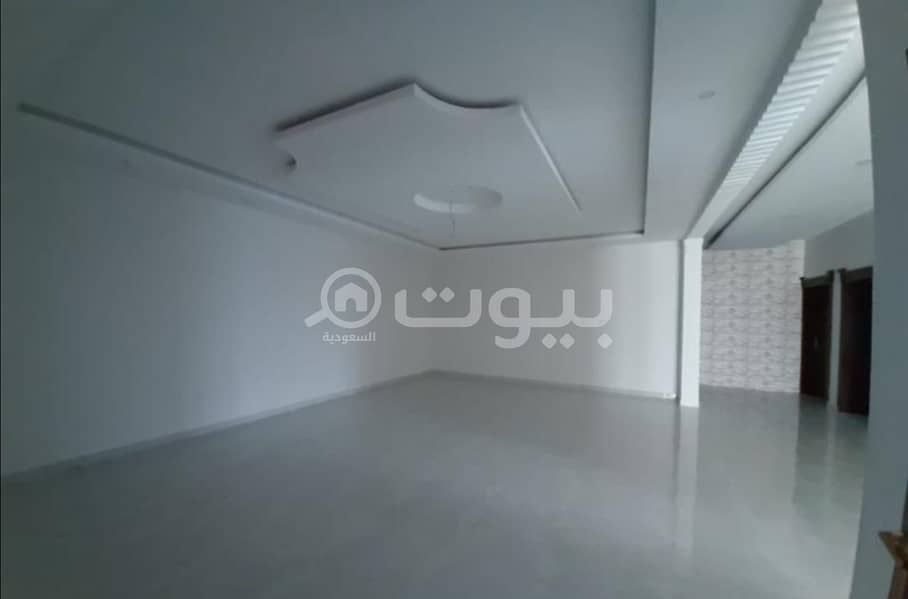 Villa floor with the possibility of establishing 2 apartments for sale in Al Khuzama, Hail