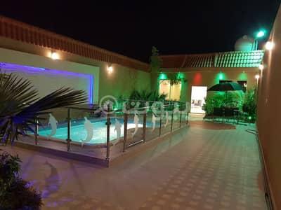 شاليه 3 غرف نوم للايجار في الرياض، منطقة الرياض - شاليه مع مسبح للإيجار اليومي في المهدية، غرب الرياض