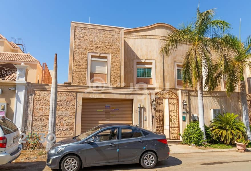A fully furnished villa for rent in Al Basateen, North Jeddah